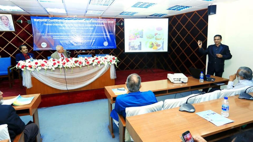 National Conference on Electronics and Informatics at Atomic Energy Centre, Dhaka.